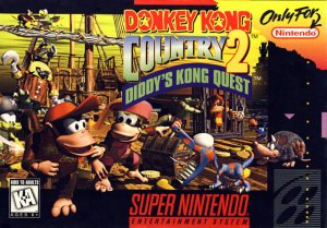 Donkey Kong Country 2: Diddy's Kong Quest per Super Nintendo Entertainment System