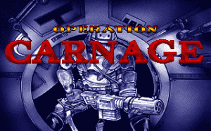 Operation Carnage per PC MS-DOS