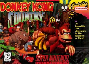 Donkey Kong Country per Super Nintendo Entertainment System