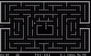 Pac-Gal per PC MS-DOS