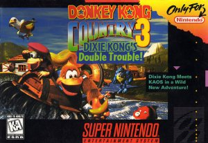 Donkey Kong Country 3: Dixie Kong's Double Trouble! per Super Nintendo Entertainment System