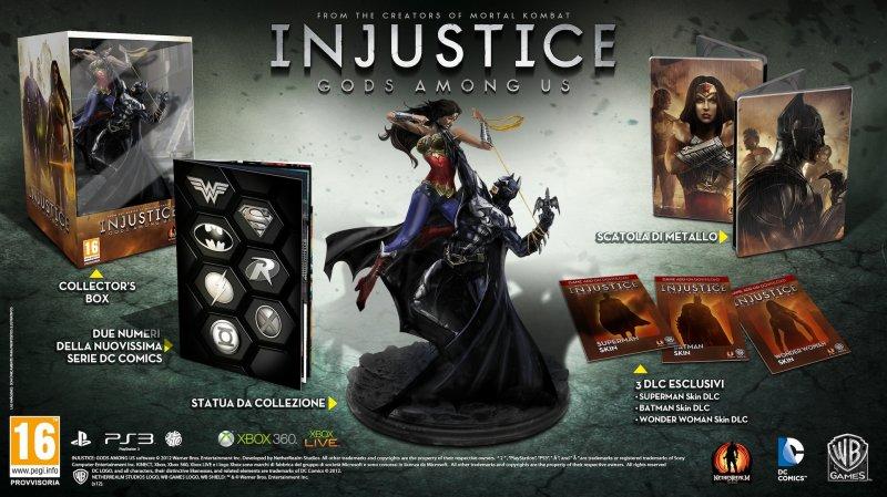 Injustice: Gods Among Us - Annunciata la Collector's Edition
