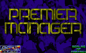 Premier Manager per PC MS-DOS