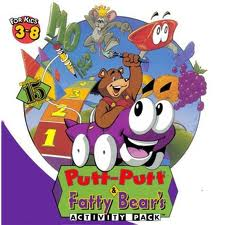 Putt-Putt and Fatty Bear's Activity Pack per PC MS-DOS