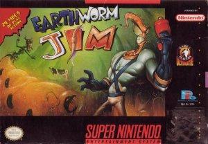 Earthworm Jim per Super Nintendo Entertainment System