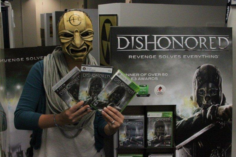 Dishonored in gold - La maschera del Sacerdote in palio