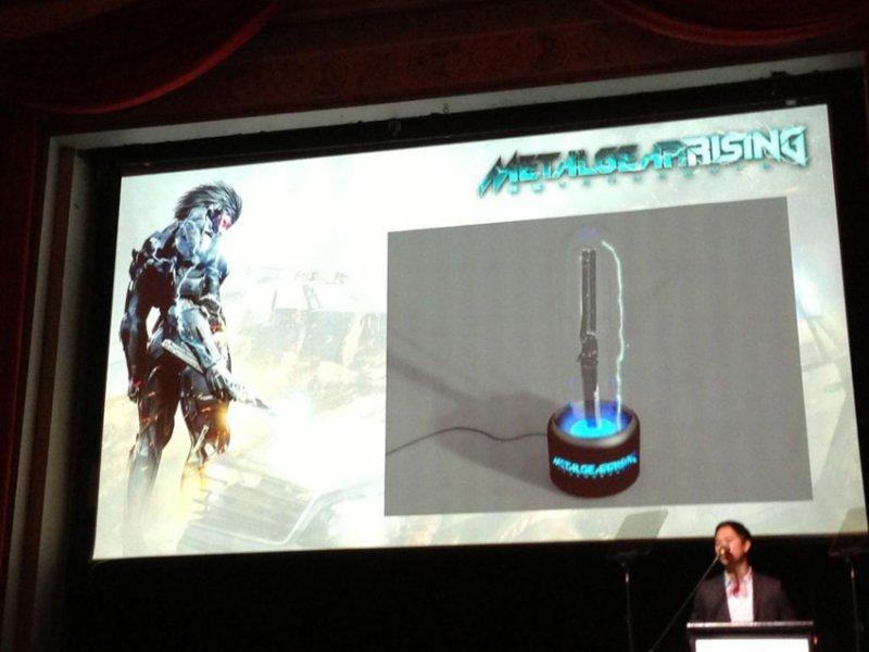 Metal Gear Rising: Revengeance - Una lampada/spada nella Collector's Edition