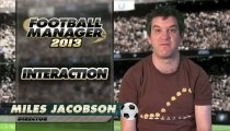 Football Manager 2013 - Video sull'interazione