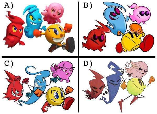 Namco Bandai cerca un nuovo look per Pac-Man