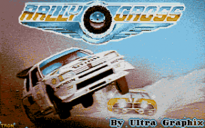 Rally Cross Challenge per PC MS-DOS