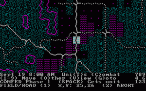 Rebel Charge at Chickamauga per PC MS-DOS