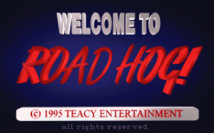 Road Hog! per PC MS-DOS
