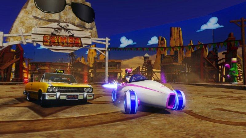 Sonic e amici alle corse trasformiste