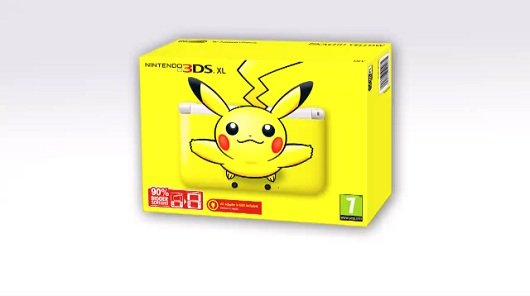 Nintendo 3DS XL a tema Pikachu anche in Europa