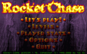 Rocket Chase per PC MS-DOS