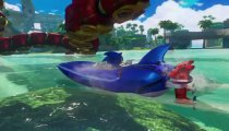Sonic & All-Stars Racing Transformed - Trailer con Danica Patrick