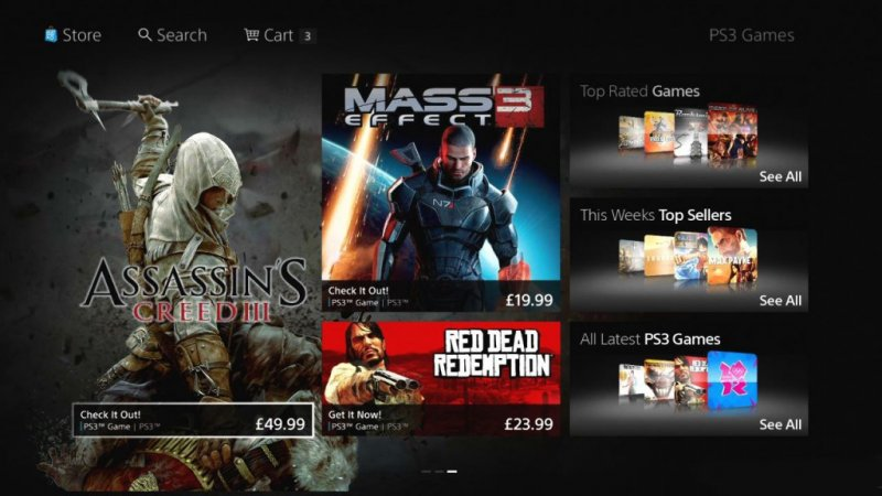 Sony ha presentato il nuovo PlayStation Store