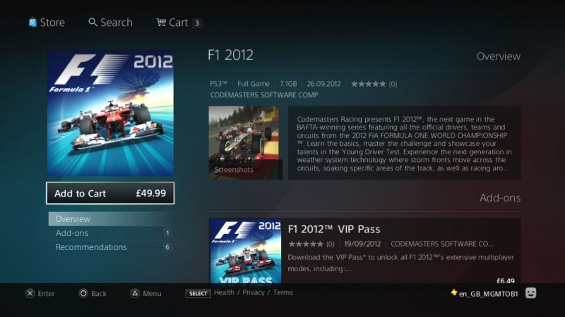 Il nuovo Playstation Store