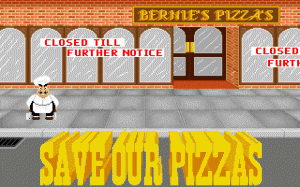 Skunny: Save Our Pizzas! per PC MS-DOS
