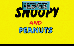 Snoopy and Peanuts per PC MS-DOS