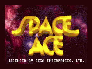 Space Ace per PC MS-DOS