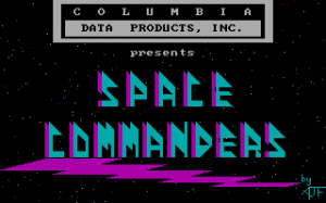 Space Commanders per PC MS-DOS