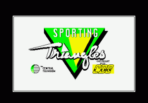 Sporting Triangles per PC MS-DOS