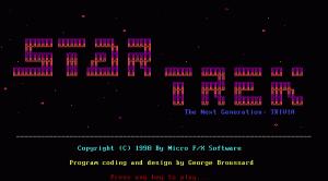 Star Trek: The Next Generation - Trivia per PC MS-DOS