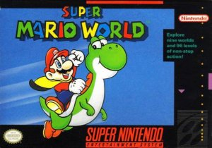 Super Mario World per Super Nintendo Entertainment System