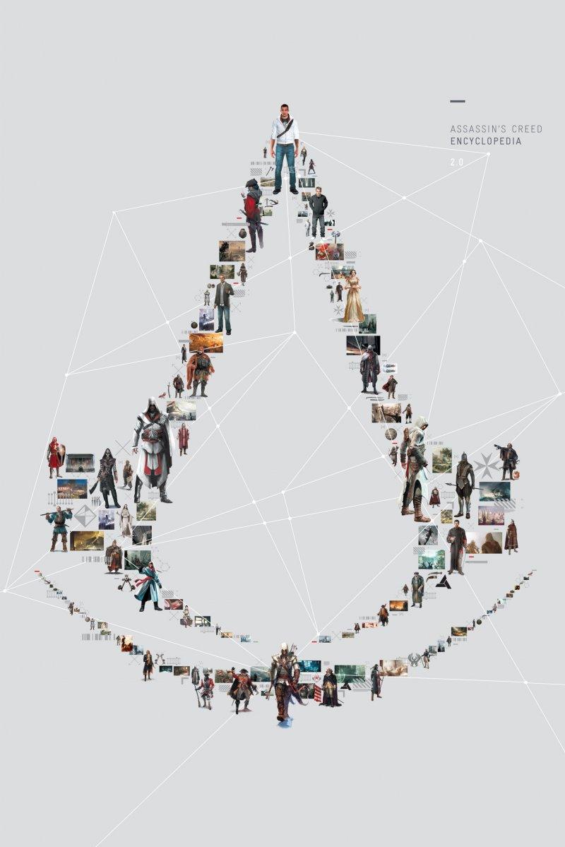 Assassin's Creed Encyclopedia 2.0 in Italia con Multiplayer.it Edizioni
