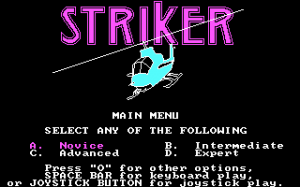 Striker per PC MS-DOS