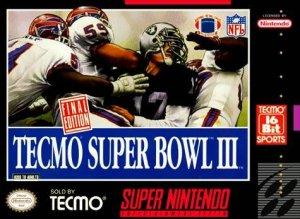 Tecmo Super Bowl III: Final Edition per Super Nintendo Entertainment System