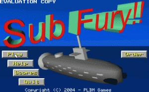 Submarine Fury per PC MS-DOS