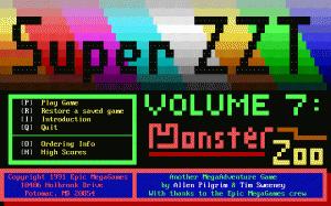Super ZZT per PC MS-DOS