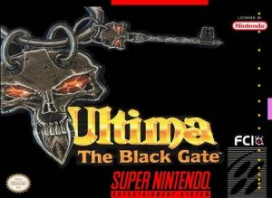 Ultima: The Black Gate per Super Nintendo Entertainment System