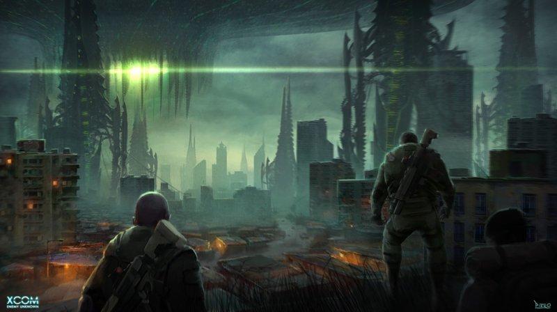 XCOM: Enemy Unknown - Gli artwork di Piero Macgowan svelano un concept alternativo
