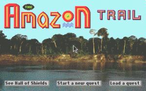 The Amazon Trail per PC MS-DOS