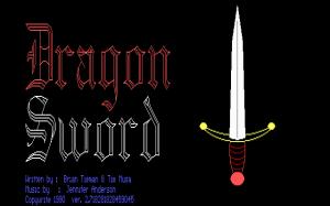 The Dragon Sword per PC MS-DOS
