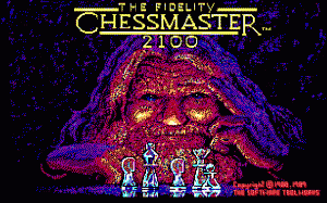 The Fidelity Chessmaster 2100 per PC MS-DOS