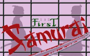 The First Samurai per PC MS-DOS
