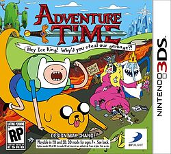 Adventure Time: Hey Ice King! Why'd You Steal Our Garbage?!! per Nintendo 3DS