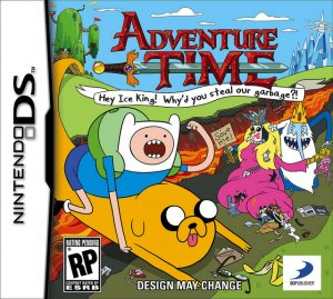 Adventure Time: Hey Ice King! Why'd You Steal Our Garbage?!! per Nintendo DS