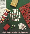 The Games People Play: Gin, Cribbage, Checkers, and Backgammon per PC MS-DOS