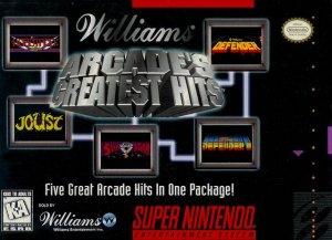 Williams Arcade's Greatest Hits per Super Nintendo Entertainment System