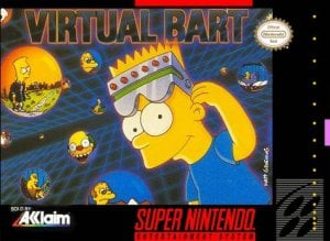 Virtual Bart per Super Nintendo Entertainment System