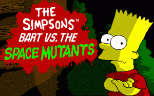 The Simpsons: Bart vs. the Space Mutants per PC MS-DOS