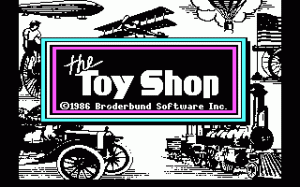 The Toy Shop per PC MS-DOS