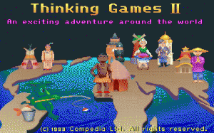 Thinking Games 2 per PC MS-DOS