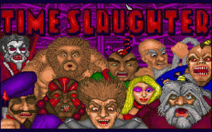 Time Slaughter per PC MS-DOS