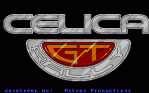 Toyota Celica GT Rally per PC MS-DOS